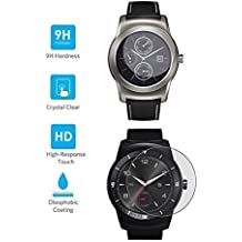 BlueBeach® Templado de Vidrio Protector de Pantalla para LG Watch URBANE / G Watch R