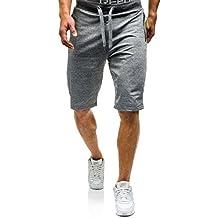 BOLF Hombre Pantalón Corto De Tiro Bajo Pantalones Deportivo Entretiempo Fitness Deporte 7G7 Motivo 7ZKqtoodAk
