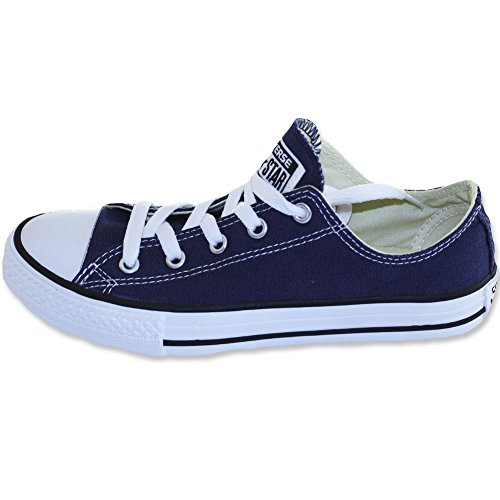 Converse chuck enfants cT lOW nAVY Bleu - Bleu marine