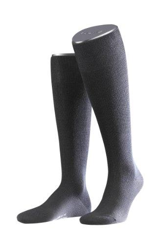 2 Paar FALKE Support Strong Socken, Stützstrümpfe (45-46, anthrazit/melange)