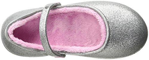 Crocs Karin Sparkle Lined Clog, Sabots Fille Argent (Silver)