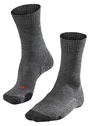 FALKE 16474 Herren Socke TK 2, asphalt melange (3180), 39-41, ( UK 5.5-7.5 )