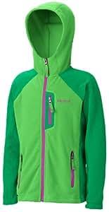 Marmot Kinder Kapuzenpullover Sasha, bright grass/dark fern, XL, 88150-4344-6