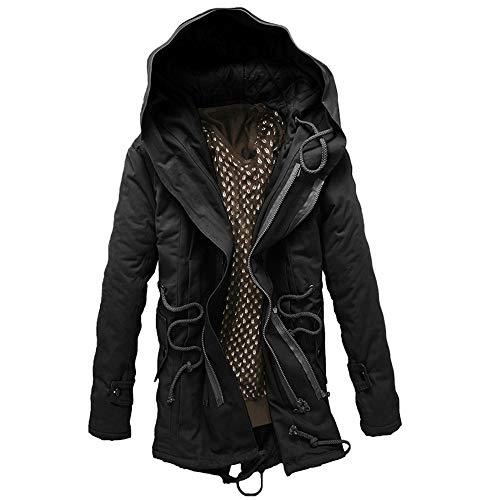 Qinsling felpa con cappuccio uomo inverno maglione elegante maniche lunghe distintivo hoodie sweatshirt camicetta dolcevita vestibilità slim tops