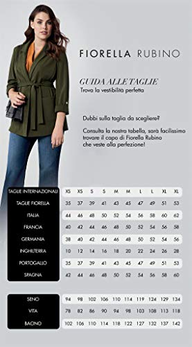 Cardigan Animalier Fiorella Rubino Italian Plus Size