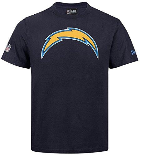 "New Era ""NFL Team Logo San Diego caricabatterie"" T-Shirt - Marina blu navy"