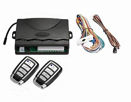 SLPRO - Sistema telecomandato a radiofrequenza per chiusura centralizzata, universale, 2 telecomandi Keyless Open in dotazione