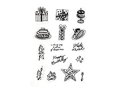 Shopaholic Clear Stamps For Decorative Use (Big)