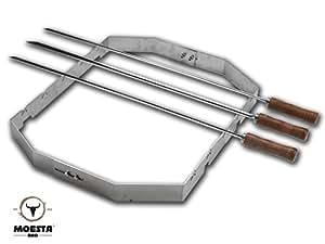 Churrasco'BBQ Set für Smokin' PizzaRing (für 57cm PizzaRing)