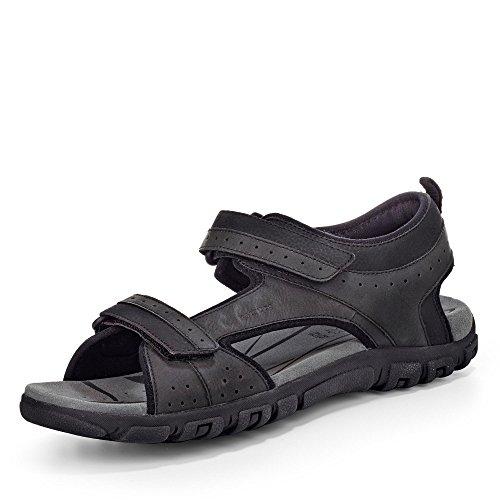 Geox Sandale, Groesse 42, schwarz
