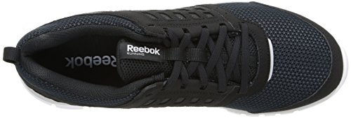 Reebok Z Dual-Ride-Laufschuh Black / Gravel / White / Silver Metallic / Steel