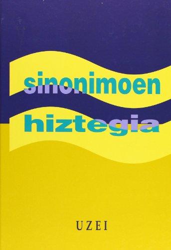 Sinonimoen hiztegia (Hiztegiak) por Uzei