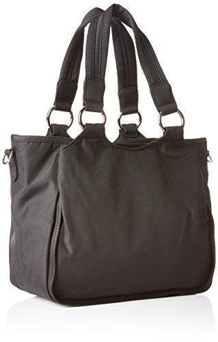 Bogner Leather Kelis - Borsa a tracolla, , taglia Nero (Schwarz (black/teak 090))