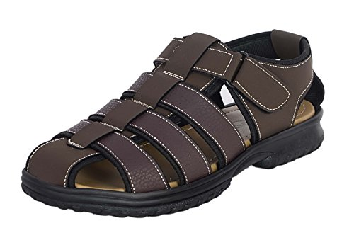VOLO Men's Brown Athletic & Outdoor Sandals and floaters