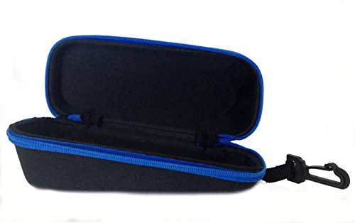 Discount4product Fabric Case for Goggles, Spectacles and Sunglasses(Universal Size)