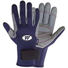 Sailing gloves Model Neoprene® Blue gray XXS