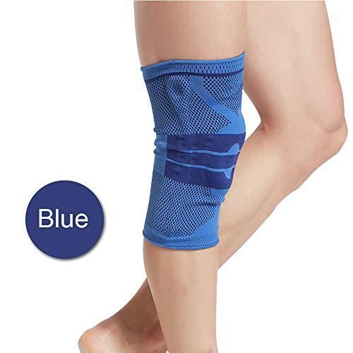 WXQQ RodillerasProfesionales Rodillera de Neopreno Apoyo de la Rodilla Totalmente Ajustable Alivio Seco Transpirable Abierto Rótula Dolor en la Rodilla del Menisco, la Artritis