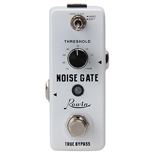 1/4 inchMonaural Jack DC 9V 26mA Hard/Soft 2 Working Modes Noise Killer Guitar Noise Gate Suppressor Effect Pedal - Guitar Noise Pedal Gate