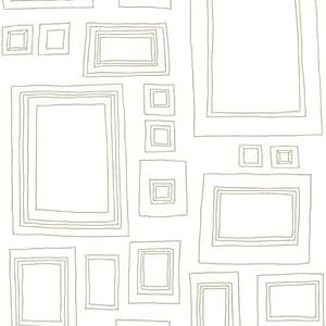 Graham brown taylor wood papier peint tapisserie cadre blanc or - Tapisserie graham brown ...
