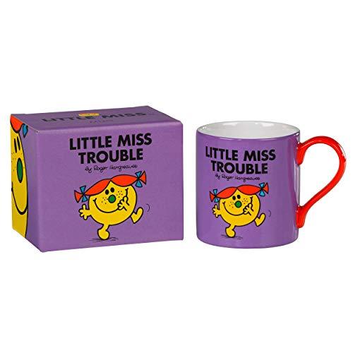 Tasse Mr. Men und Little Miss Trouble in leuchtendem Violett