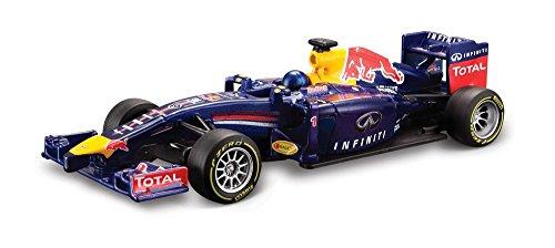 Bburago 15641209 - Modellino di automobile di F1, Red Bull Infiniti RB10, scala 1:34, 2014 (Sebastian Vettel)