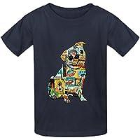 Carlino Collage Bambini Girocollo T-Shirt personalizzata