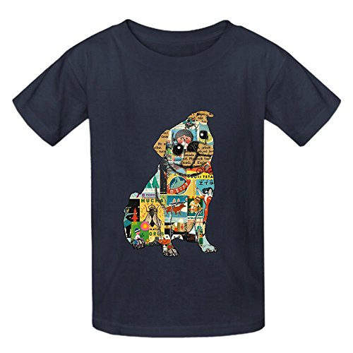 cute-pug-collage-boys-crew-neck-short-sleeve-t-shirts-grey