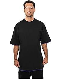 Urban Classics TB029A Herren T-shirt Bekleidung Contrast ,