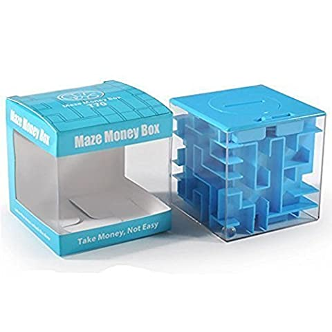 SainSmart Jr. Amaze CB-22 Cube Money Maze Bank-Unique Perfect Gifts for Kids-100% Satisfaction Guaranteed!