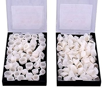Hot Dental 100 x couronnes dentaires temporaires pour dents antérieures et dents arrière