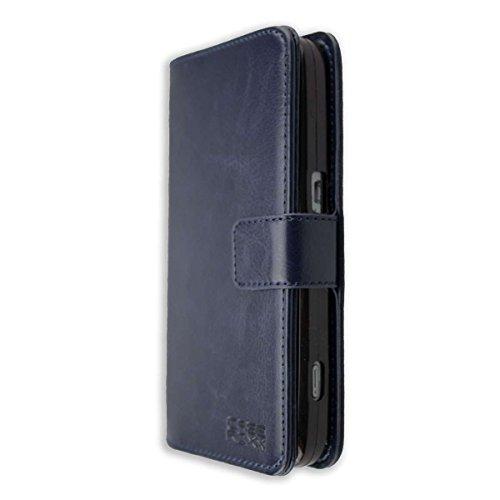 caseroxx Tasche Case Hülle Bookstyle-Case für Doro 8030/8031 in blau