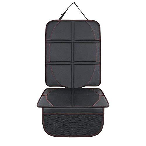 Autositzauflage MAXTUF Auto Kindersitzunterlage ISOFIX Autositzschoner mit Organizer Tasche...