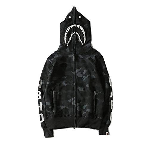 yur67 Bape Shark Full Zip Pullover Sweatshirt Hoodie for Men/Women -