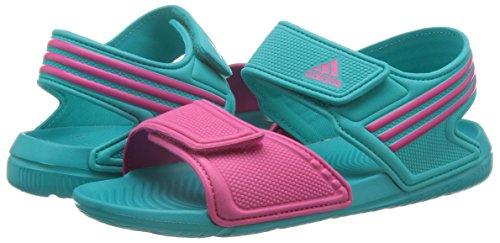 Adidas badelatschen Enfant Akwah 9Sandales Vert - Vert