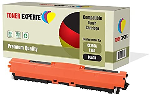 TONER EXPERTE® Compatible CF350A 130A Noir Cartouche de Toner pour HP Colour LaserJet Pro MFP M176N, M177FW