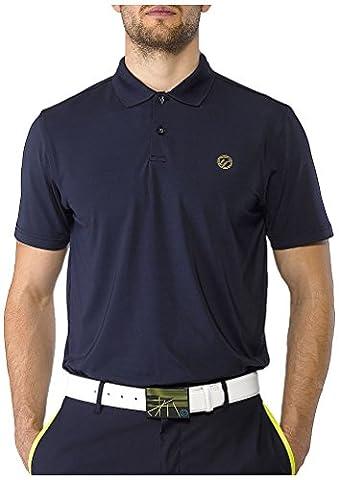 IJP design feather weight t-shirt de golf XL Bleu - bleu