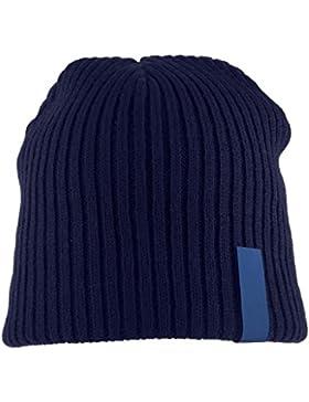 Super Giallo Fjord antivento lana berretto, unisex, Fjord, Dark Blue, Taglia unica