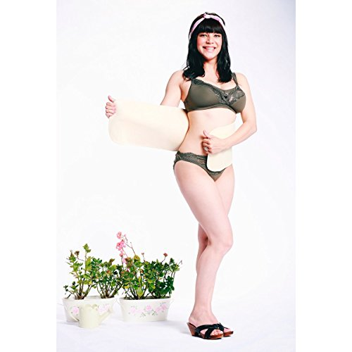 CARRIWELL La ceinture gainante post-partum corset ventre plat Naturel