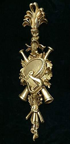 Artissimo Wanddeko,Wandrelief Antik in Barockstil, Gold, Wandbehang, Ornament, Türbogen,...