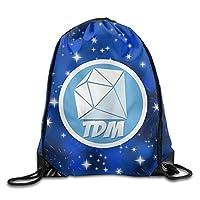 Naiyin The Diamond Minecart DAN TDM Drawstring Backpack Sack Bag