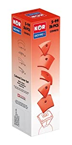 Geomag- KOR Color Cover Juego de construcción, roja, 26 Piezas (574)