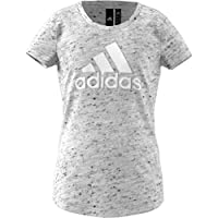 Adidas Yg Id Winner T T-Shirt For Girls DJ1390 Grey - 7-8 Years