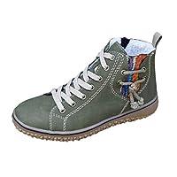 LILICAT Ankle Boots Winter Warm Plush Lined Women