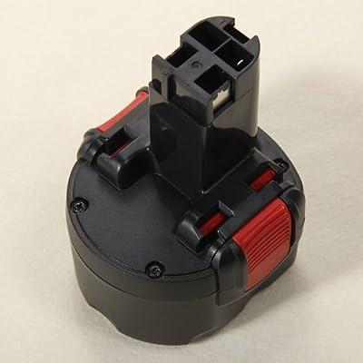 Masione Ni-Cd Batterie Für Bosch 9.6Volt 2607335540,BAT048,PSR960,GSR9.6(New Version) 2000mAh / Werkzeugakku 2607335373, BAT049, 2607335272 geeignet für Bosch
