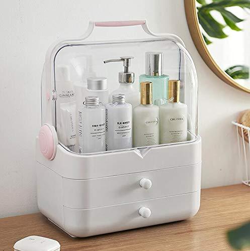 CPDZ Makeup Organisator Kosmetikkoffer Kosmetische Parfüms Display Stand Box Im Schlafzimmer Bad Und Wohnzimmer Staubdicht Wasserdicht -