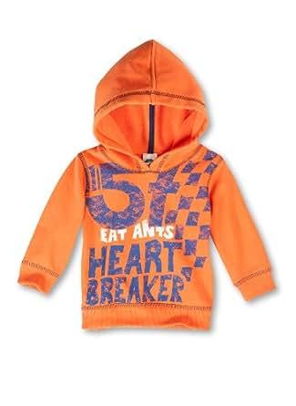Sanetta Baby - Jungen Sweatshirt 123265, Gr. 74, Orange (2389)