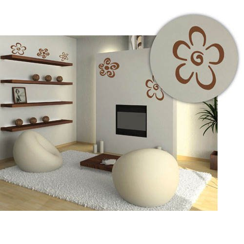 home-design-b6013-wandschablone-blumen-100-x-70-cm