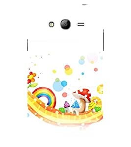 printtech Mushroom City Funky Design Back Case Cover for Samsung Galaxy Grand Neo Plus / Samsung Galaxy Grand Neo Plus i9060i