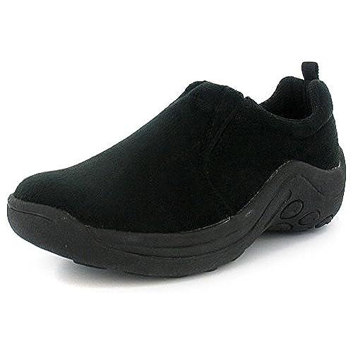 New WomensLadies Black Elasticated Slip On Moccasin ShoesTrainers  Black  UK SIZES 38  7FS8PNYSM