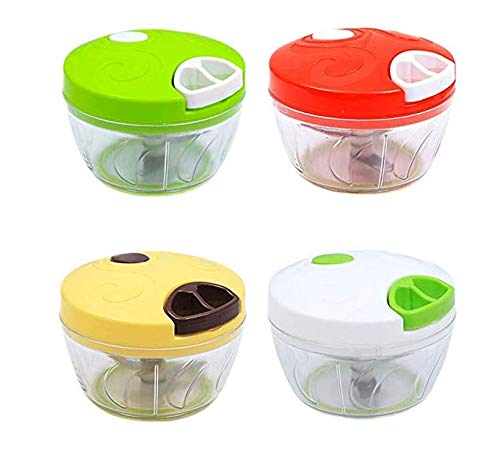 Runfon Multifunction Vegetable Fruit Powerful Manual HandHeld Chopper 100% brand new and high quality